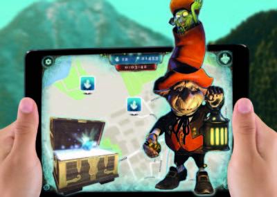 Magic Portal foto iPad